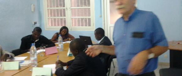 Séance de formation Analyse financière des Institutions de microfinance