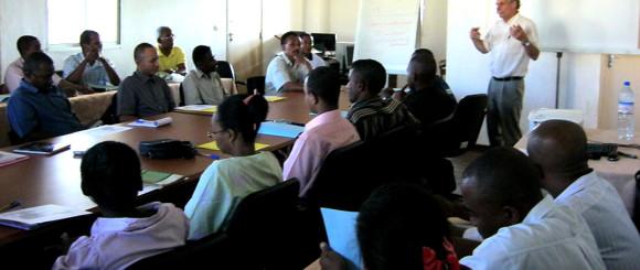 formation à la microfinance avec Michel HAMON l'école de la microfinance