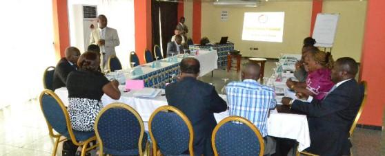 Séminaire de formation des institutions de microfinance