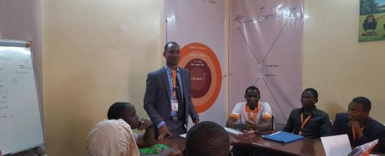 formation à l'école de la banque à Niamey (Proxifina)