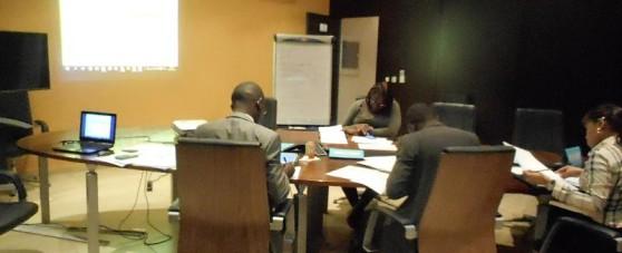 formation à l'école de la banque à Libreville (LOXIA)