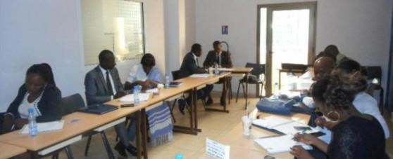 Formation à l'école de la microfinance à Libreville