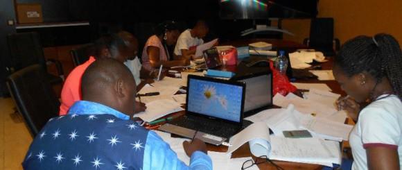 formation à l'école de la banque à Libreville